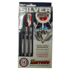 Harrows SOFT SILVER ARROW 5837 Šipky s plastovým hrotem 18g