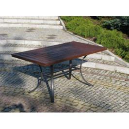 Tradgard WELLINGTON 2677 Zahradní stůl černý FSC