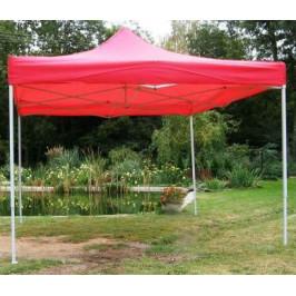 Tradgard CLASSIC 40973 Zahradní párty stan  nůžkový - 3 x 3 m červený
