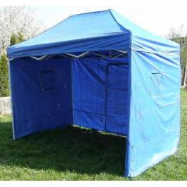 Tradgard CLASSIC 40972 Zahradní párty stan  nůžkový + boční stěny - 3 x 2 m modrý