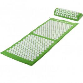 MOVIT 40599 Akupresurní podložka s polštářem 130 x 50 cm - zelená