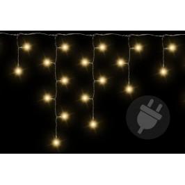 Nexos 211 Vánoční světelný déšť 72 LED teple bílá - 2,7 m