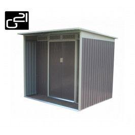 G21 GBAH 418 Zahradní domek - 203 x 172 cm, šedý