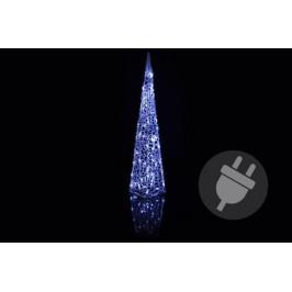 Vánoční dekorace - Akrylový kužel - 90 cm, studeně bílé + trafo OEM D06002