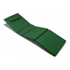 Divero 36872 Polstrování na lehátko - tmavě zelená