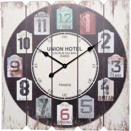 Nástěnné hodiny SQUARE 68 x 68 cm - UNION HOTEL