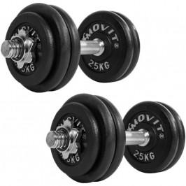 MOVIT 32888 Set jednoručních litinových činek 2 x 30 kg