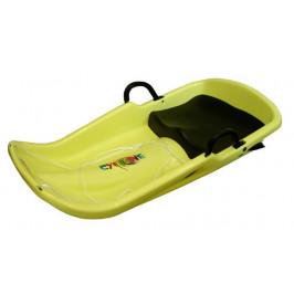 CorbySport Cyclone 28068 Plastový bob - žlutý