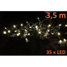 Nexos Trading GmbH & Co. KG 4253 Vánoční LED osvětlení 3,5m - teple bílé, 35 diod