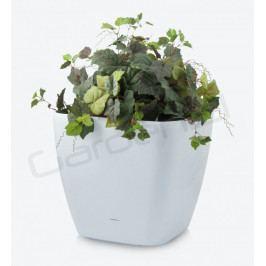 G21 24050 Samozavlažovací květináč  Cube maxi bílý 45cm