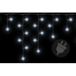 Nexos 38537 Vánoční světelný déšť 600 LED studená bílá - 11,9 m
