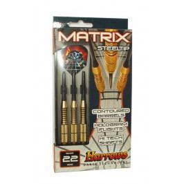 Harrows STEEL MATRIX 5816 Šipky s kovovým hrotem 24g
