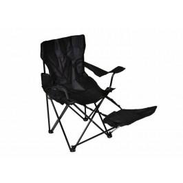 Garthen 1482 Skládací židle s područkami a opěrkou na nohy