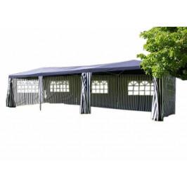 Zahradní stan - modrý, 3 x 9 m