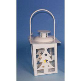 Nexos Trading GmbH & Co. KG 33565 Vánoční dekorace - mini lucerna strom - 1 LED