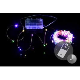 Nexos Trading GmbH & Co. KG 41711 LED osvětlení - měděný drát - 100 LED barevné