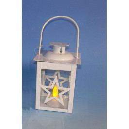 Nexos Trading GmbH & Co. KG 33478 Vánoční dekorace - mini lucerna hvězda - 1 LED