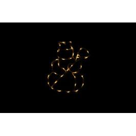 Nexos Trading GmbH & Co. KG 43006 Vánoční LED dekorace - sněhulák - 30 cm