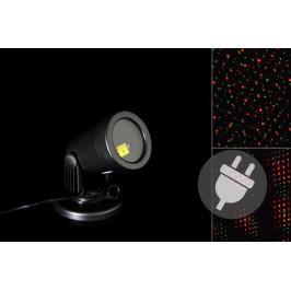 Nexos 41715 Venkovní LED projektor - červená a zelená - dosah 3 - 12 m