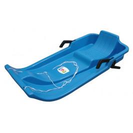 CorbySport 32602  Plastový bob - modrý s brzdami