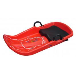 CorbySport Cyclone 28065 Plastový bob  - červený