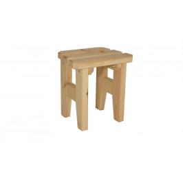 Gaboni Eduard 55583 Zahradní dřevěná stolička - bez povrchové úpravy