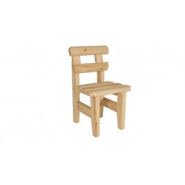 Gaboni Eduard 55573 Zahradní dřevěná židle - bez povrchové úpravy