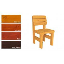 Gaboni Darina 55480 Zahradní dřevěná židle - s povrchovou úpravou
