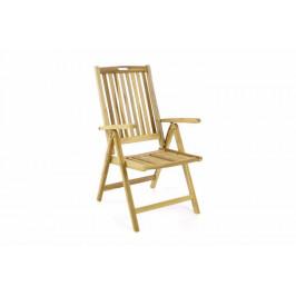 Divero 54742 Zahradní skládací židle dřevěná