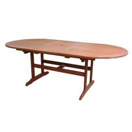 Tradgard 54634 Zahradní stůl AWARD rozkládací dřevěný - 175 - 220 cm
