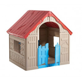 Keter 54605 Dětský hrací domek FOLDABLE PLAYHOUSE - béžový