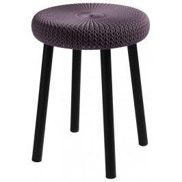 Keter 43786 Stolička COZY stool - fialová