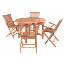 Divero 32099  zahradní nábytek z týkového dřeva