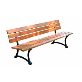 Tradgard 2747 Dřevěná zahradní parková lavice FSC