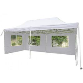 Garthen 397 Zahradní párty stan - bílý nůžkový 3x6 m
