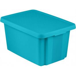 CURVER 41145 Úložný  box s víkem  26L - modrý