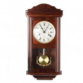 Tuin 1403 Nástěnné kyvadlové hodiny THESEUS mahagon - 60 cm