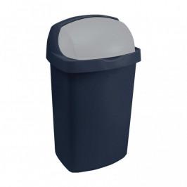 CURVER 31470 Koš odpadkový ROLL TOP 50l - modrý