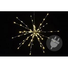 Nexos 33215 Vánoční osvětlení - meteorický déšť - teplá bílá, 40 cm 80 LED