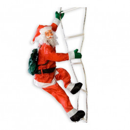 Tuin 2060 Vánoční dekorace - Santa Claus na žebříku - 240 cm