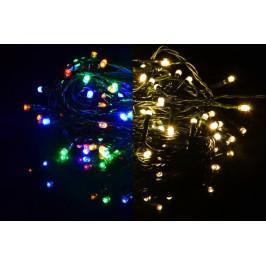 Nexos 39234 Vánoční světelný řetěz 200 LED - 9 blikajících funkcí - 19,9 m