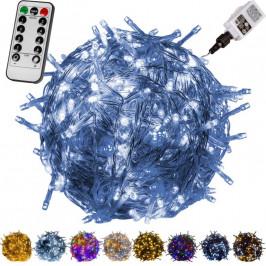 VOLTRONIC® 59753 Vánoční LED osvětlení 5 m - studená bílá 50 LED + ovladač