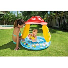 Teddies 58537 Bazén nafukovací baby muchomůrka 102x89cm od 1-3 let