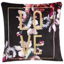 Polštář Ozdobný Love+flowers