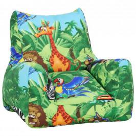 Dětské Křeslo Barevná Kids-jungle