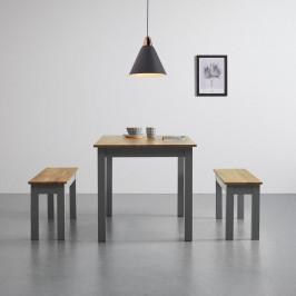 Stůl Z Masivu 130x80 Cm 'maxi'