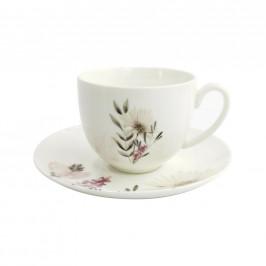 Šálek na kávu s podšálkem Amelie, Objem: 220ml