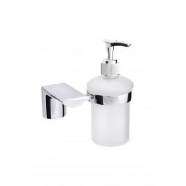 EU Dávkovač tekutého mýdla, sklo 180 ml, série AURA