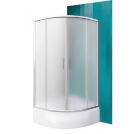Roltechnik PORTLAND NEO/900 Čtvrtkruhový sprchový kout s dvoudílnými posuvnými dveřmi