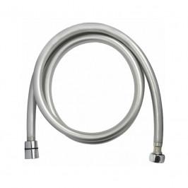 Mereo Sprchová hadice šedostříbrná 150 cm, systém zabraňující překroucení